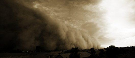 USA - Burza piaskowa przeszła przez Phoenix -5