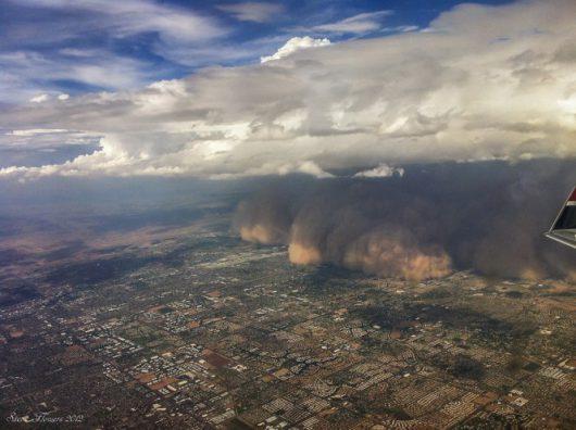 USA - Burza piaskowa przeszła przez Phoenix -6