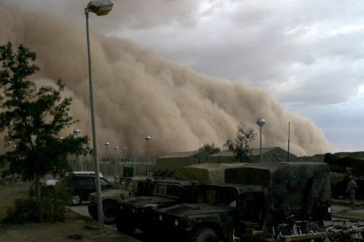 USA - Burza piaskowa przeszła przez Phoenix -7
