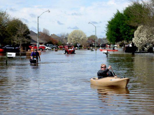 USA - Luizjana pod wodą -10