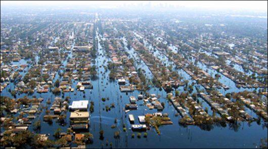 USA - Luizjana pod wodą -11