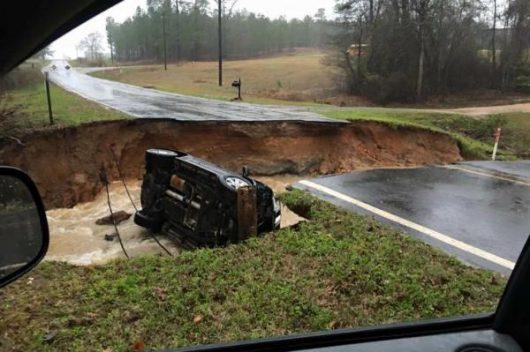 USA - Luizjana pod wodą -12