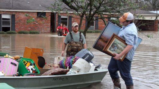 USA - Luizjana pod wodą -13