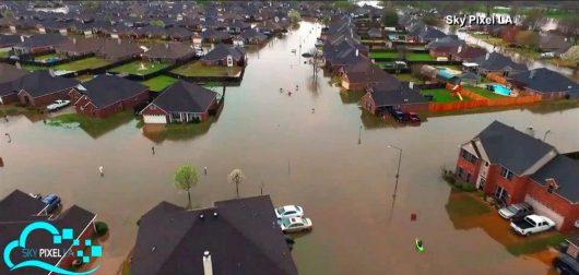 USA - Luizjana pod wodą -16