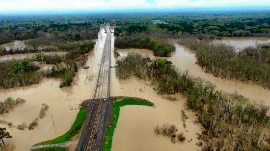 USA - Luizjana pod wodą -18