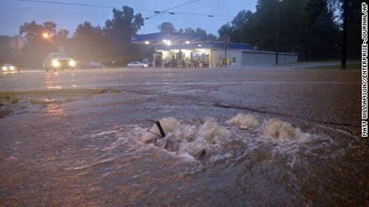 USA - Luizjana pod wodą -19