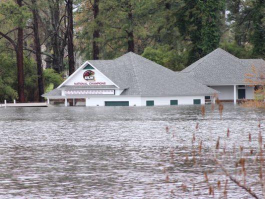 USA - Luizjana pod wodą -2