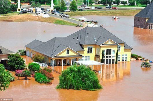 USA - Luizjana pod wodą -22