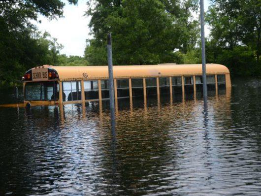 USA - Luizjana pod wodą -24
