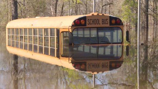 USA - Luizjana pod wodą -26