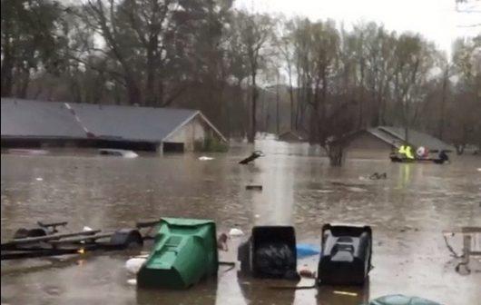 USA - Luizjana pod wodą -28