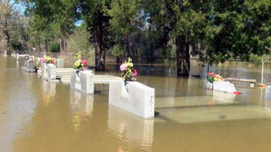 USA - Luizjana pod wodą -3