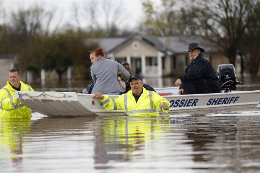 USA - Luizjana pod wodą -30