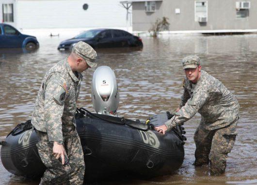USA - Luizjana pod wodą -31