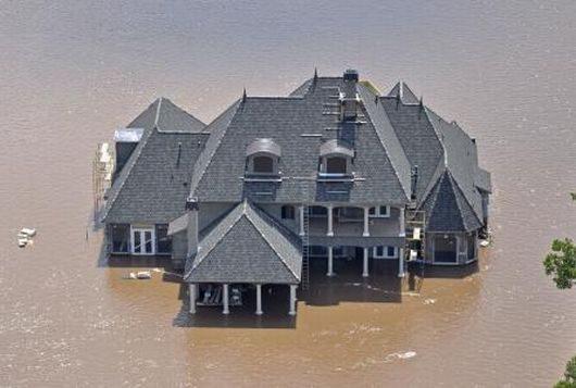 USA - Luizjana pod wodą -33