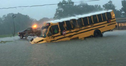 USA - Luizjana pod wodą -34