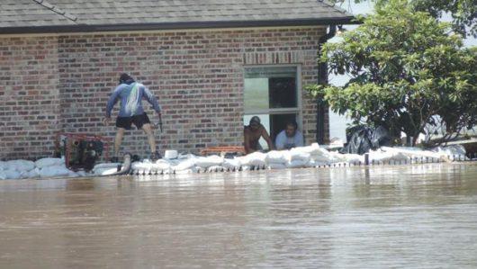 USA - Luizjana pod wodą -4