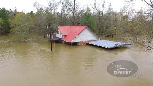 USA - Luizjana pod wodą -5
