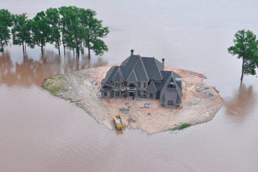 USA - Luizjana pod wodą -8