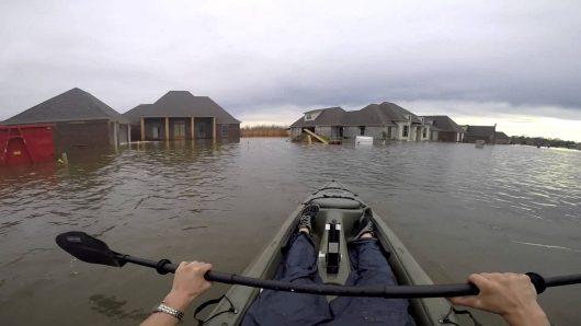 USA - Luizjana pod wodą -9