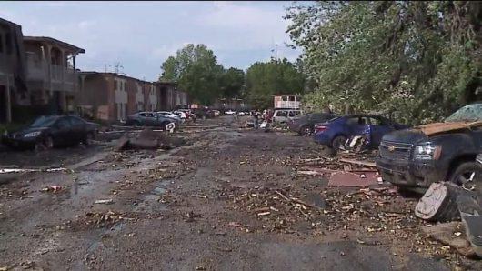 USA - Tornada zniszczyły ponad 50 domów w Kokomo w stanie Indiana -2