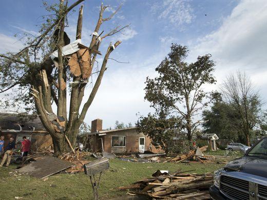 USA - Tornada zniszczyły ponad 50 domów w Kokomo w stanie Indiana -9