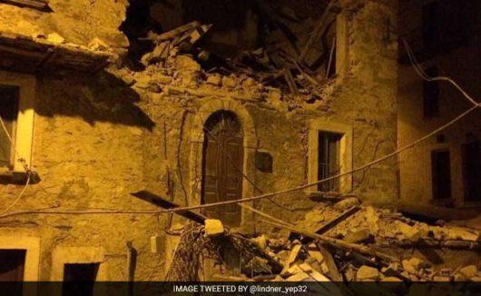 Włochy - Bardzo płytkie i silne trzęsienie ziemi, magnituda 6.2 -2