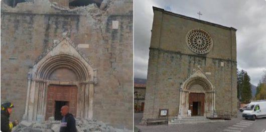 Włochy - Bardzo płytkie i silne trzęsienie ziemi, magnituda 6.2 -21