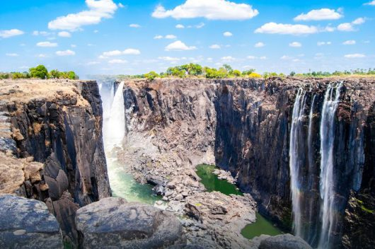 Wodospady Wiktorii (Zambia)