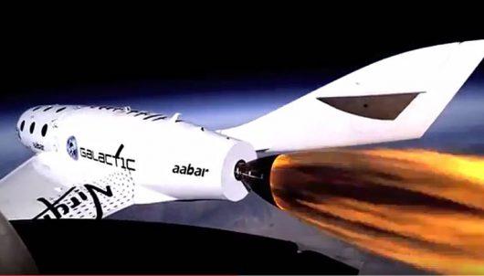 Wycieczka w kosmos na pokładzie statku SpaceShip Two staje się rzeczywistością