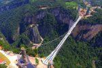 Zhangjiajie, Chiny - Otwarto najwyższy szklany most na świecie -2