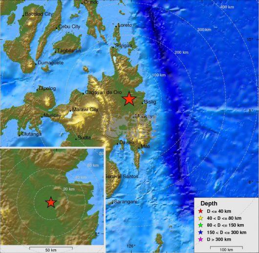 Filipiny - Ziemia zatrzęsła się na wyspie Mindanao -2
