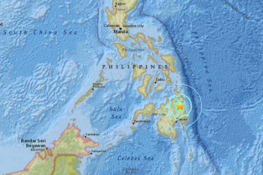 Filipiny - Ziemia zatrzęsła się na wyspie Mindanao