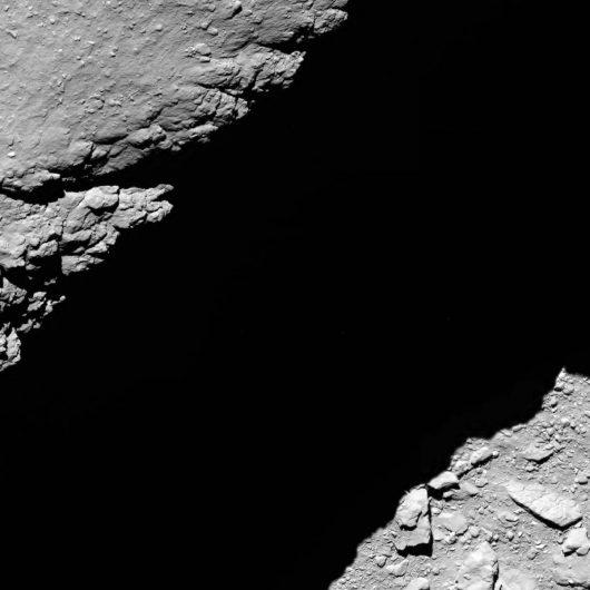 Ostatnie zdjęcie jakie wysłała Rosetta