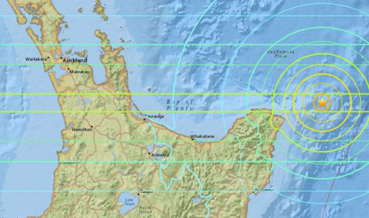 Trzęsienie ziemi - Nowa Zelandia