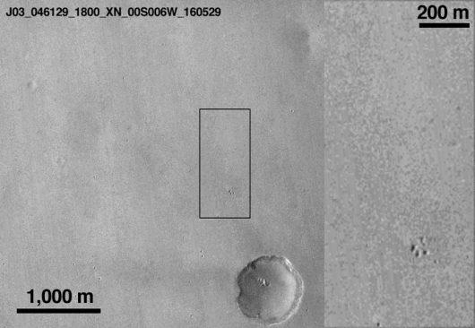 Zdjęcie z 29 maja 2016 roku przez sondę MRO /NASA/JPL-Caltech/MSSS /materiały prasowe