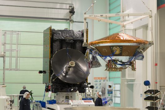 Mechanical mating of TGO and EDM to become ExoMars SCC