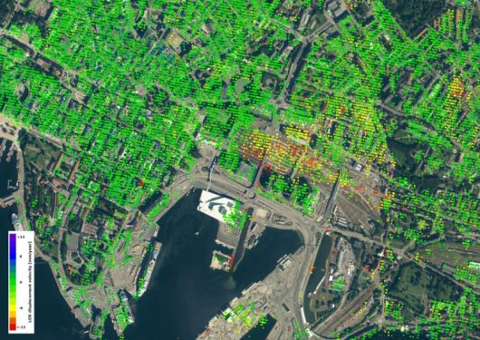 Deformacje gruntu w Oslo