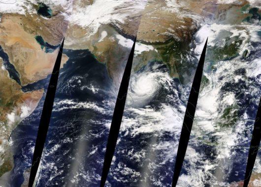 Zdjęcie satelitarne z 10 grudnia