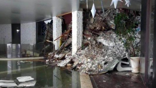 Włochy – Potężna lawina po trzęsieniu ziemi zeszła na hotel Rigopiano w Farindola, przeżyły dwie spośród około 30 osób, lawina przesunęła hotel o 10 metrów