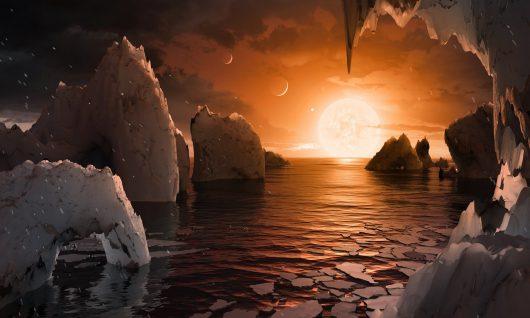 Odkryto niezwykły pozasłoneczny układ planetarny znajdujący się 40 lat świetlnych od Słońca, krąży tam 7 planet podobnych rozmiarami do Ziemi
