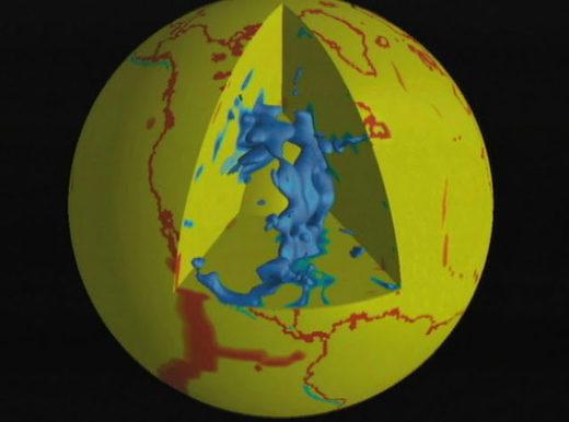 USA – Ogromny zbiornik rozpuszczonego węgla 350 km pod zachodnią częścią Stanów Zjednoczonych, posiada powierzchnię 1.8 miliona kilometrów kwadratowych