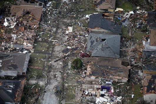 USA – Potężne tornado i ogromne zniszczenia w Luizjanie