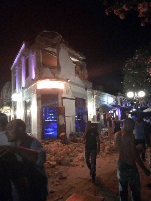 Grecja – Silne i płytkie trzęsienie ziemi w okolicach wyspy Kos, magnituda 6.7 w skali Richtera, są zniszczenia, ludzie wystraszeni