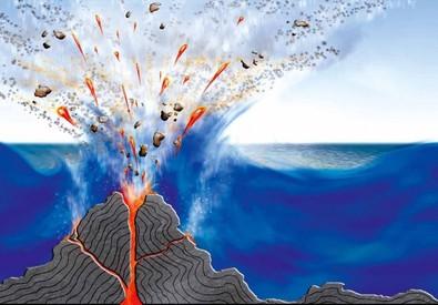 Włochy – W Morzu Tyrreńskim odkryto 7 kolejnych wulkanów, które tworzą łańcuch o długości 90 kilometrów