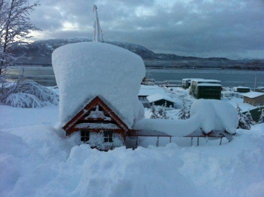 USA – Na Alasce odnotowano najwyższe opady śniegu od ponad 1200 lat