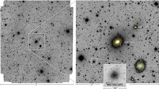 Zaobserwowano galaktykę, w której nie ma ciemnej materii