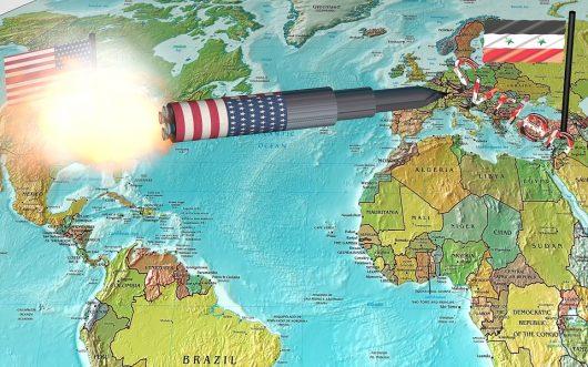 USA zaatakowało Syrię