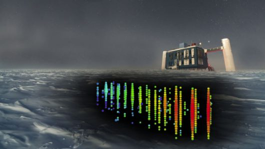 Antarktyda – IceCube zlokalizowało źródło neutrin oddalone od nas o 3.7 mld lat świetlnych
