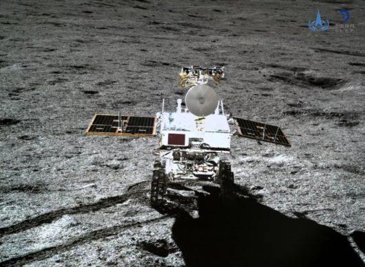 Chiński łazik Yutu 2 za pomocą radaru penetrującego grunt zbadał powierzchnię Księżyca na niewidocznej z Ziemi stronie do głębokości 40 metrów